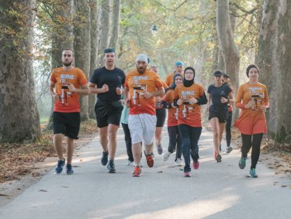 """Little Star"" – Bosnia and Herzegovina on the running map of Europe"
